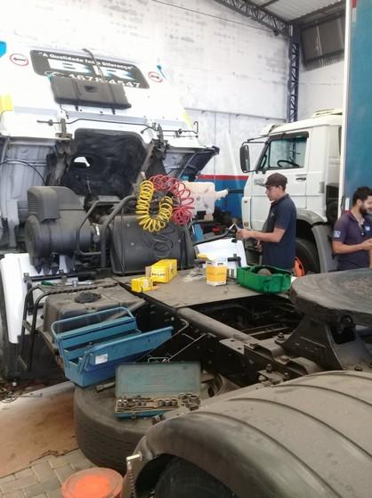 Freio Pneumático Caminhão Conjunto Residencial Prestes Maia - Freio Hidropneumático
