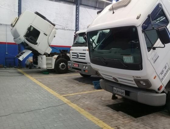 Manutenção de Freio Pneumático Caminhão Vila Cruzeiro - Freio Hidropneumático