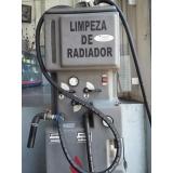 limpeza de radiador e manutenção