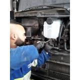 limpeza de radiador para caminhão