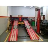 oficina mecânica para alinhamento de rodas