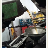 troca de óleo e filtro