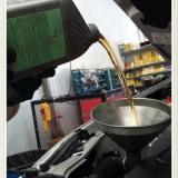 troca de óleo motor preço Jardim Sílvia